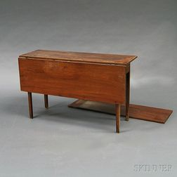 Chippendale Mahogany Drop-leaf Table