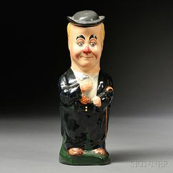 Royal Doulton George Robey Toby Jug and Cover