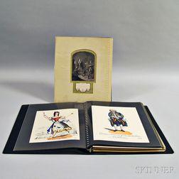 Folio of Assorted Theater Ephemera