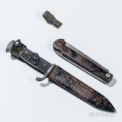 Captured HJ Knife, Cricket, Pocketknife