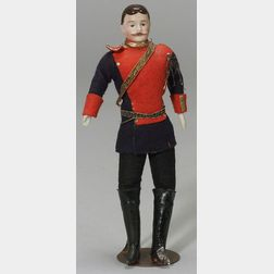 Bisque Shoulder Head Doll House Man