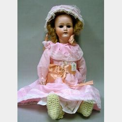 Heubach Koppelsdorf Bisque Head Girl Doll