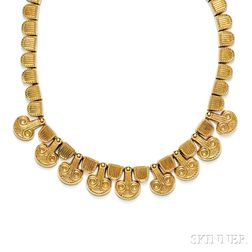 18kt Gold Necklace, Zolotas