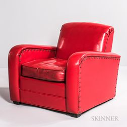 Art Deco Club Chair