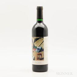Clos Pegase Cabernet Sauvignon Artists Series Hommage Reserve 1997, 1 bottle