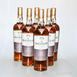 Macallan Fine Oak 17 Years Old, 6 750ml bottles (oc)
