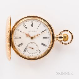 E. Howard & Co. 14kt Gold Hunter-case Watch