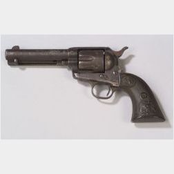 """Rare Colt Single Action Army Revolver Belonging to Ben Kilpatrick of the """"Wild Bunch"""""""