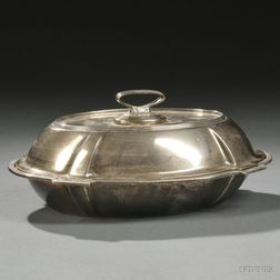 Gorham Plymouth   Pattern Sterling Silver Covered Vegetable Tureen