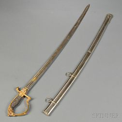 Prussian Officer's Sword