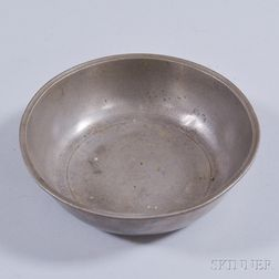 Small Pewter Basin