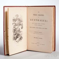 Sidney, Samuel (1813-1883) The Three Colonies of Australia: New South Wales, Victoria, South Australia; their Pastures, Copper Mines, &