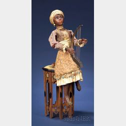 Gustave Vichy Automaton of a Moroccan Harpist