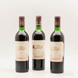 Chateau Margaux 1971, 3 bottles