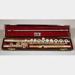 American Silver Flute in C, William S. Haynes Company, Boston, 1947