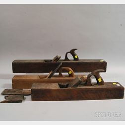Three Wooden Planes