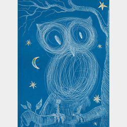 Salvador Dalí (Spanish, 1904-1989)      Petite chouette (Little Owl)