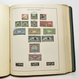 Group of American Stamps