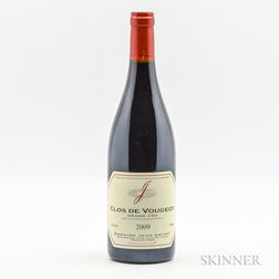 Jean Grivot Clos Vougeot Grand Cru 2009, 1 bottle