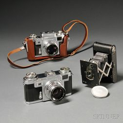 Two Zeiss Ikon 35mm Cameras