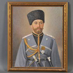Ivan Diky (American, 20th Century)      Tsar Nicholas II