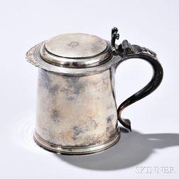 George V Britannia Standard Silver Presentation Tankard