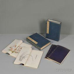 Set of Eight Books of the Ten Bamboo Studio
