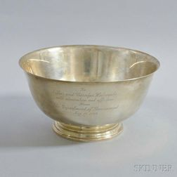Sterling Silver Paul Revere Reproduction Bowl