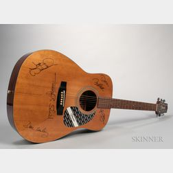 The Eagles Autographed Takamine G330 Acoustic Guitar,