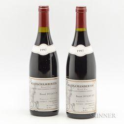Bernard Dugat Py Mazis Chambertin Vieilles Vignes 1997, 2 bottles