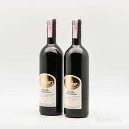 Altesino Brunello di Montalcino Montosoli 1997, 2 bottles