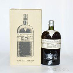 Macallan 1861 Replica, 1 750ml bottle (oc)