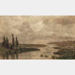 James Craig Nicoll (American, 1846-1918)      A Creek