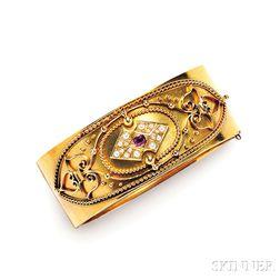 Antique 15kt Gold Bracelet