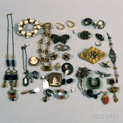 Group of Miscellaneous Vintage Jewelry