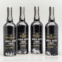 Churchill Agua Alta Single Quinta 1992, 4 bottles