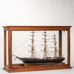 Model of the Sailing Ship Flying Cloud