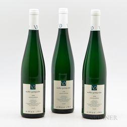 Vollenweider Wolfer Goldgrube Riesling Spatlese 2008, 3 bottles