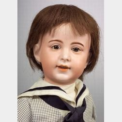 SFBJ 238 Character Bisque Head Boy Doll