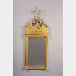 Federal Gilt-gesso Carved Mirror