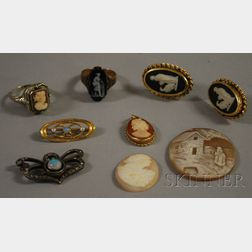Small Group of Antique Jewelry