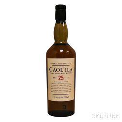 Caol Ila 25 Years Old 1978, 1 750ml bottle