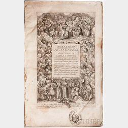 Crusenius, Nicolaus (d. 1629) Monasticon Augustinianum in quo Omnium Ordinum sub Regula S. Augustini.