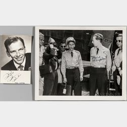 Sinatra, Frank (1915-1998) Two Signed Photographs, One Unsigned.