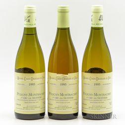 Michel Colin Deleger Puligny Montrachet La Truffiere 1995, 3 bottles