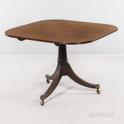 George III Mahogany Tilt-top Breakfast Table