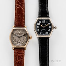 Two Illinois Watch Co. Wristwatches