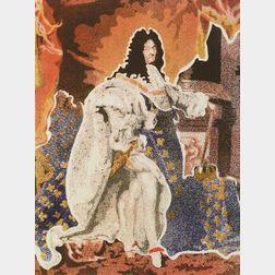 John Clem Clarke (American, b. 1936)  Louis XIV (After Hyacinthe Rigaud)