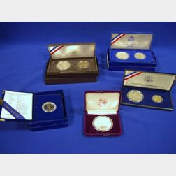 Small Lot of U.S. Commemorative Coins and Proofs