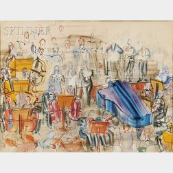 Raoul Dufy  (French, 1877-1953)      Grand Orchestre